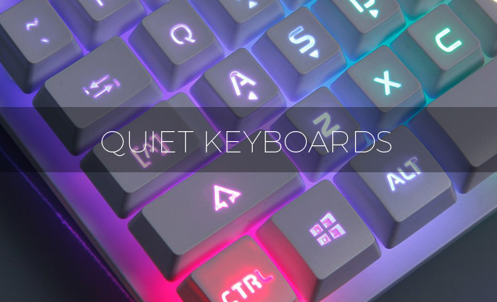 the best quiet keyboards 2017 even office work can be too noisy quiet home lab. Black Bedroom Furniture Sets. Home Design Ideas