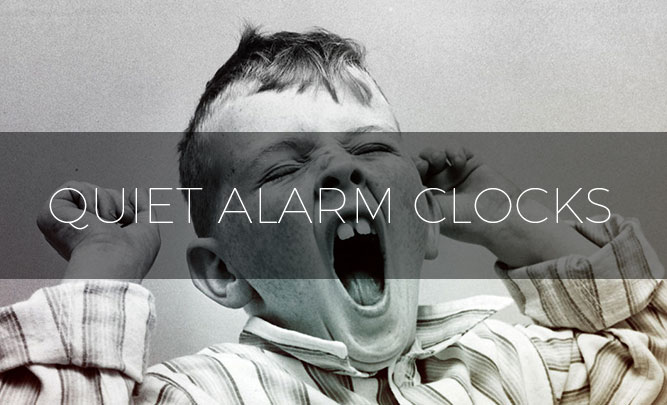 best quiet alarm clocks