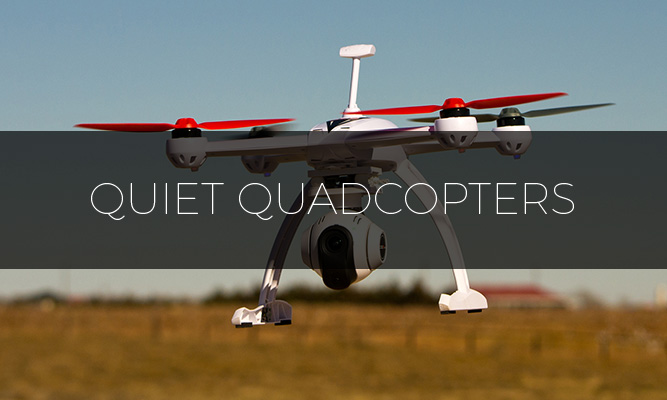 best quietest quadcopters