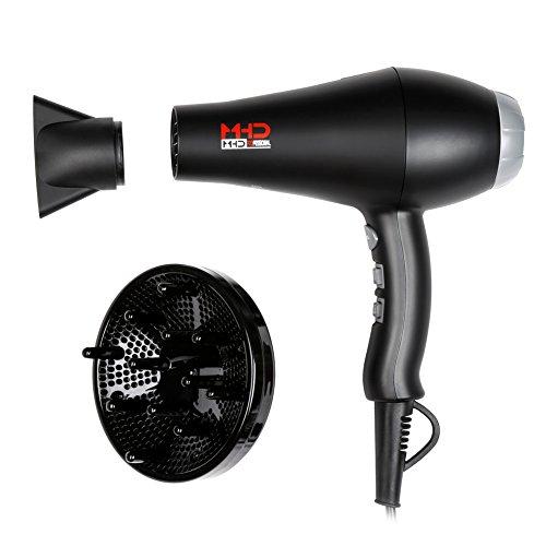 MHD Professional Salon Quality 1875w Ionic Hair Dryer