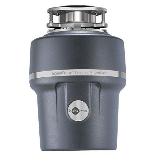 InSinkErator Essential XTR 3/4 HP Household Garbage Disposer Gray
