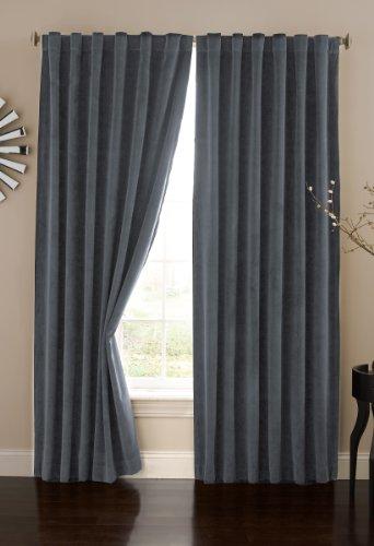 Absolute Zero Velvet Blackout Curtain Panel