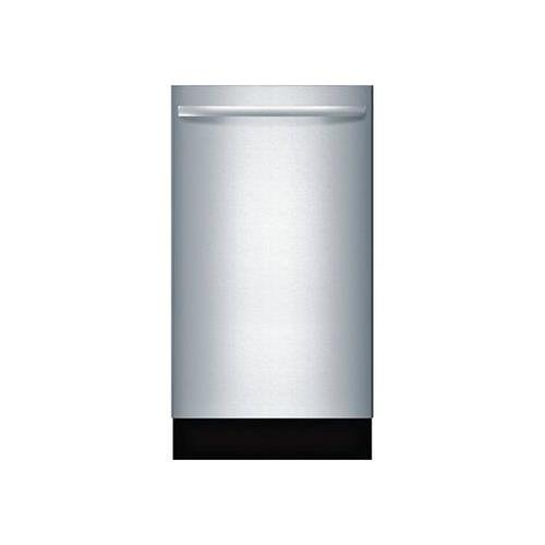 """Bosch SPX68U55UC 18"""" 800 Series Dishwasher with 10 Place Settings Fully Integrated Control Panel 44 dBA Quiet Operation"""