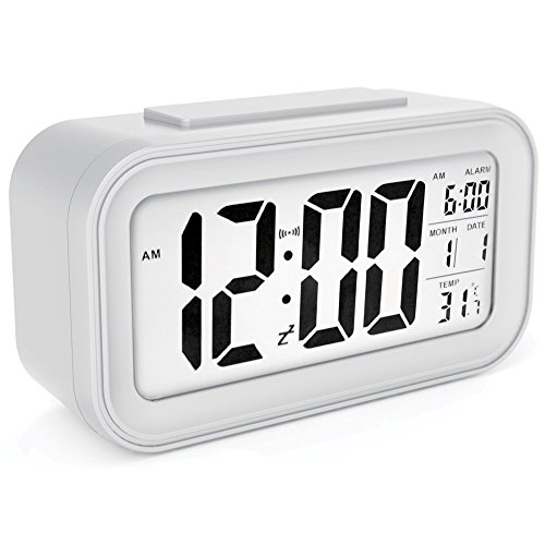 Available In Three Bold Color Choices, The Sinu0026Mi Morning Clock Is Small  Enough To Serve As A Travel Alarm But Features A Large, Easy To Read  Display ...
