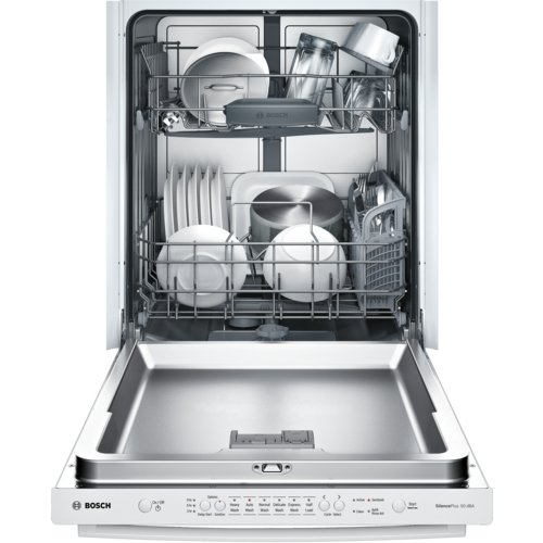 """Bosch SHX3AR72UC Ascenta 24"""" Wide Fully Integrated Built-In Dishwasher with 6 Wash Cycles"""