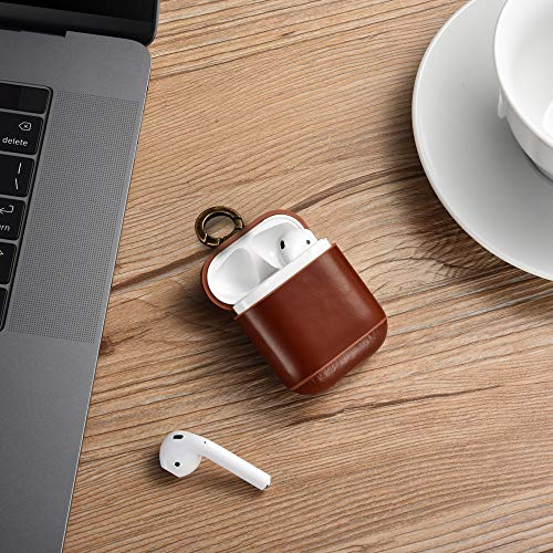 ICARER Genuine Leather Portable Protective Shockproof Cover