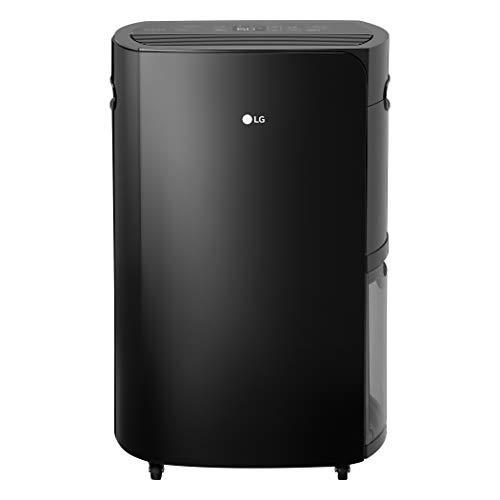 LG PuriCare 2019 50-Pint Black Energy Star Dehumidifier UD501KOG5