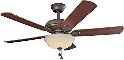 """10) Brightwatts Energy Efficient 52"""" LED Ceiling Fan"""