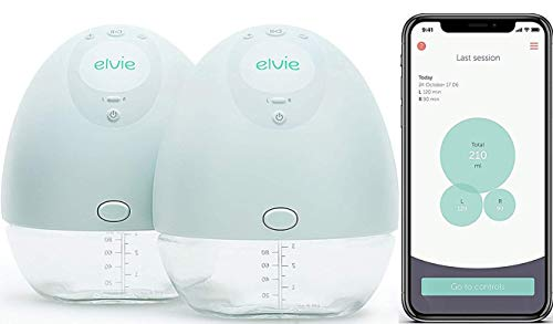 9) Elvie Pump Double Silent Wearable Breast Pump