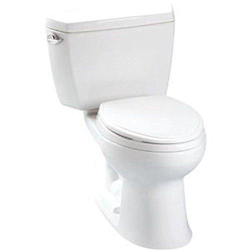 2) TOTO Eco Drake Two-Piece Elongated Toilet