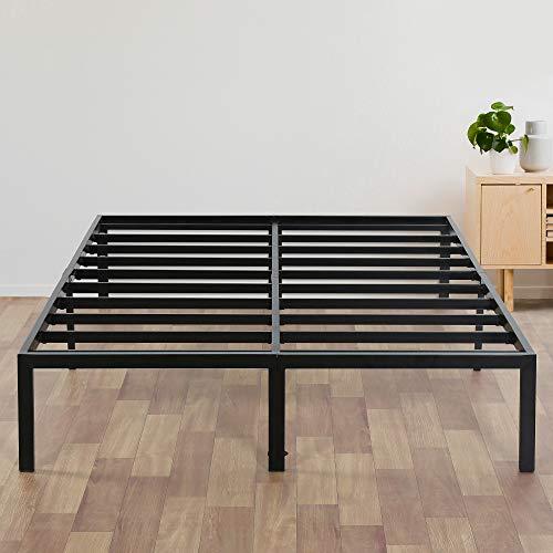 4) Olee Sleep Heavy Duty Steel Slat Bed Frame