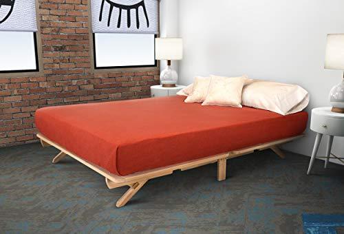 7) KD Frames Fold Platform Bed
