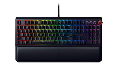 Razer BlackWidow Elite Mechanical Gaming Keyboard: Yellow Mechanical Switches - Linear & Silent