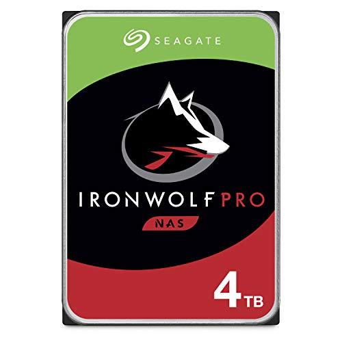 1) Seagate IronWolf Pro 4TB NAS Internal Hard Drive