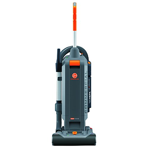 Hoover Commercial HushTone Upright Vacuum Cleaner, 13 inches with Intellibelt