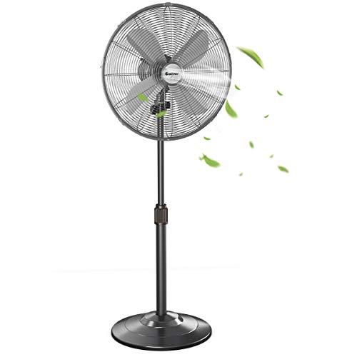 12) COSTWAY Metal Pedestal Fan