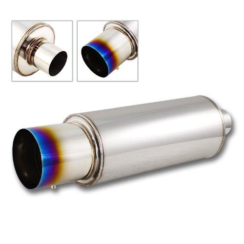 "DM 4"" N1 T304 Stainless Steel Exhaust Resonator Muffler"