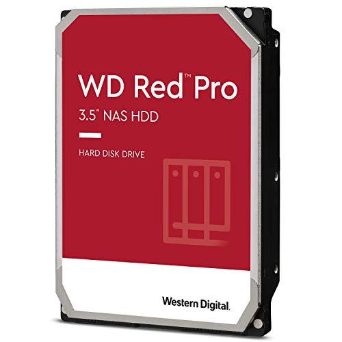 2) Western Digital Red Pro hard drive