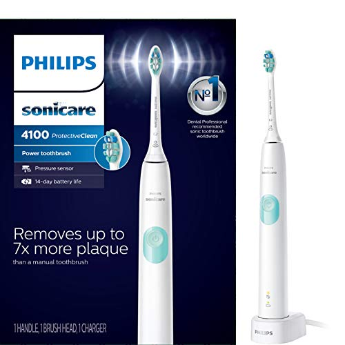7) Philips Sonicare ProtectiveClean 4100 Electric Toothbrush[