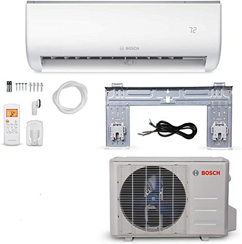 9) Bosch Ultra-Quiet 12K BTU Mini Split Air Conditioner