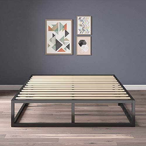 1) Zinus Joseph Metal Platforma Bed Frame