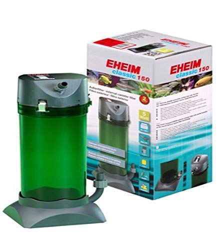 3) EHEIM Classic External Canister Filter with Media