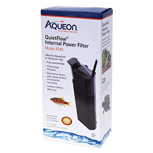 1) Aqueon Quietflow Internal Power Filter