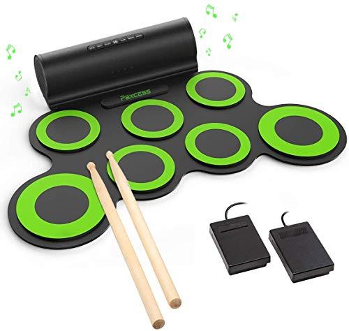 5) PAXCESS Electronic Drum Set