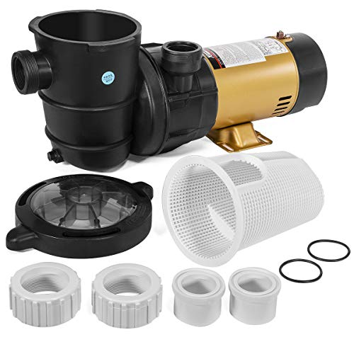 XtremepowerUS 1.5HP Variable 2-Speed Swimming Pool Pump