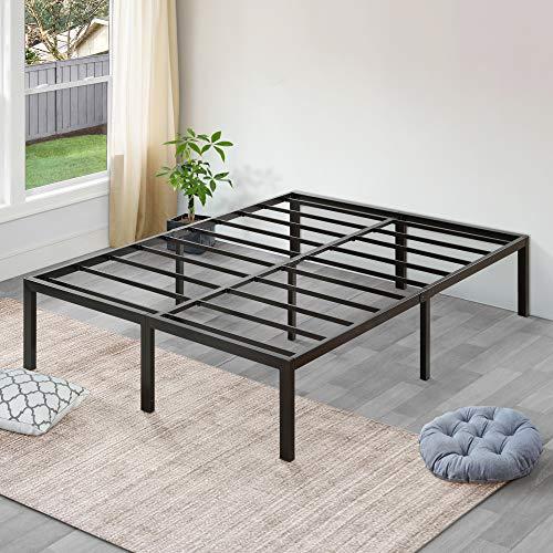 12) SLEEPLACE High Profile Heavy Duty Steel Slat Bed Frame