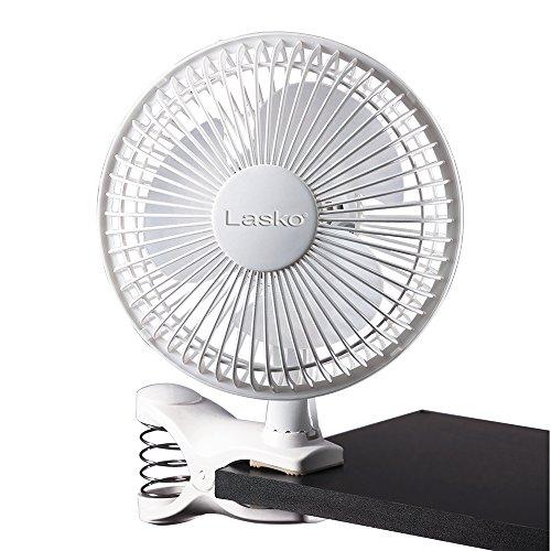 Lasko FBA 2004W 2-Speed Clip Fan