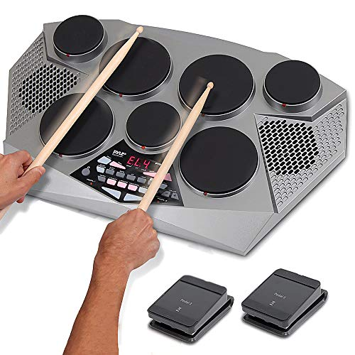 8) Pyle 7 Pad All-in-One Electronic Drum Kit