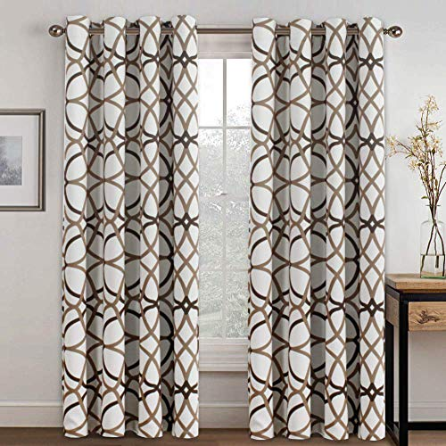 H.VERSAILTEX Thermal Insulated Blackout Grommet Curtain Drapes