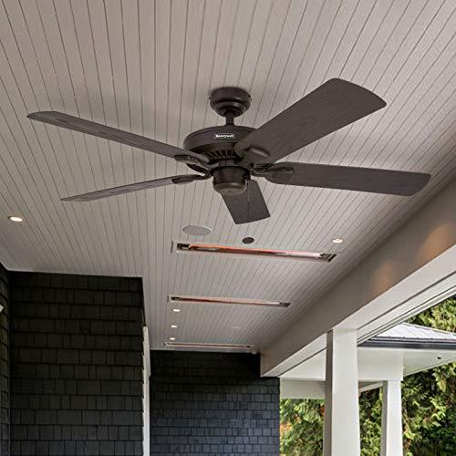 """2) Honeywell Belmar 52"""" Indoor/Outdoor Ceiling Fan"""