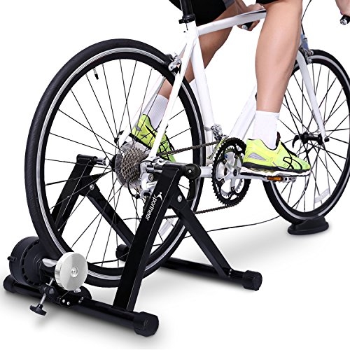 3) Sportneer Magnetic Bike Trainer