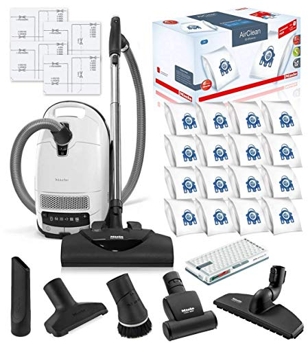 Miele Complete C3 Cat and Dog Canister HEPA Canister Vacuum Cleaner with SEB228 Powerhead Bundle