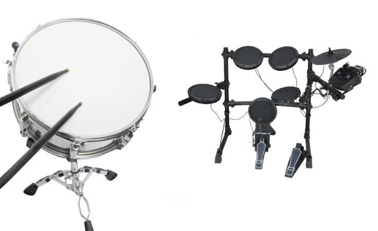 Best Quiet Drum Sets