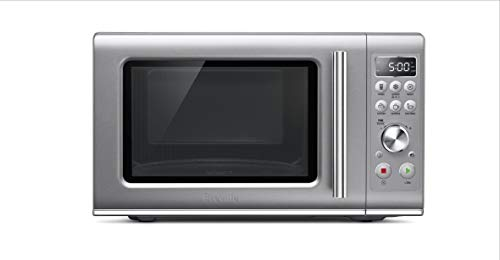 Breville BMO650SIL Compact Wave Countertop Microwave Oven