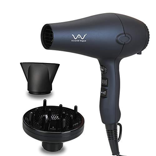 VAV Blow Dryer 1875W Negative Ionic Professional Hair Dryer