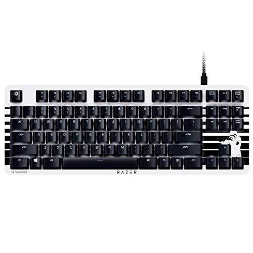 BlackWidow Lite TKL Tenkeyless Mechanical Keyboard : Orange Key Switches - Tactile & Silent