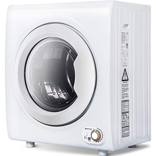 Senter 2.65 Cubic Feet Compact Laundry Dryer