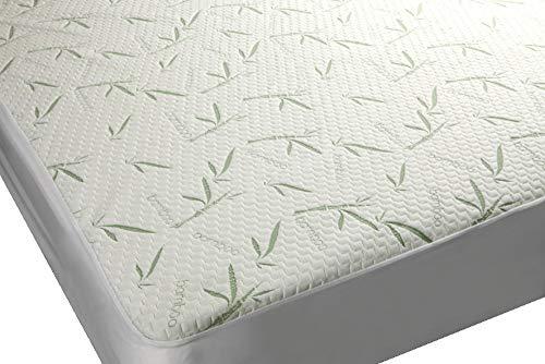 12) Mezzati Premium Plush Bamboo Mattress Protector