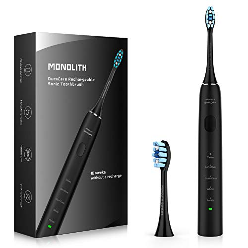 5) Monolith DuraCare Rechargeable Toothbrush
