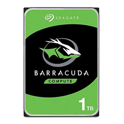 5) Segate Bare Drives BarraCuda 1TB Internal Hard Drive