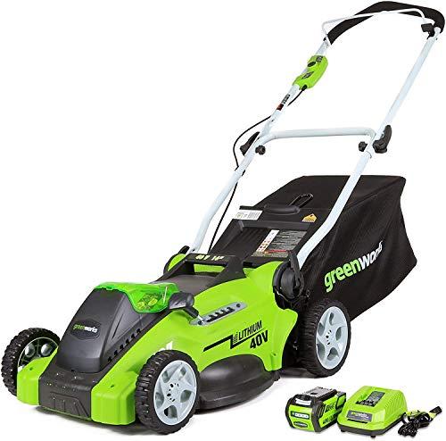 "Greenworks 16"" Cordless Lawn Mower"