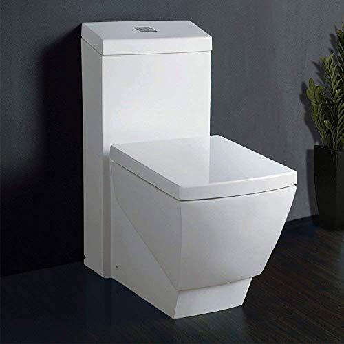 9) WoodBridge T-0020 Dual Flush Toilet